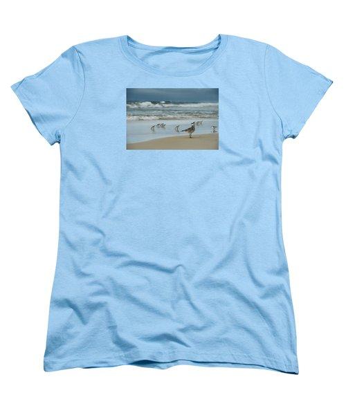 Sandpiper Beach Women's T-Shirt (Standard Cut)