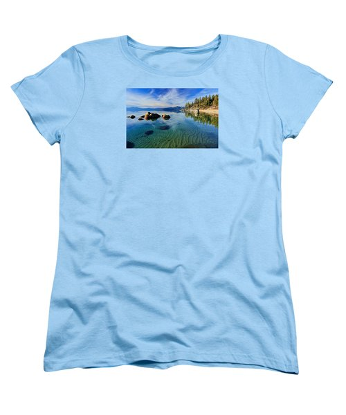 Sands Of Time 2 Women's T-Shirt (Standard Cut) by Sean Sarsfield