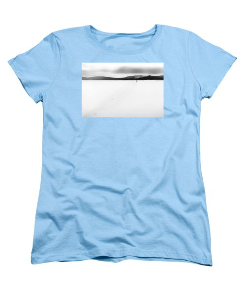 Women's T-Shirt (Standard Cut) featuring the photograph Sannikov Land by Hayato Matsumoto