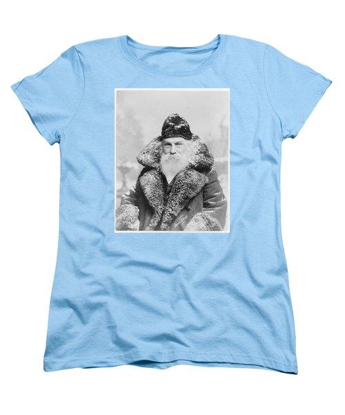 Santa Claus Women's T-Shirt (Standard Cut) by David Bridburg