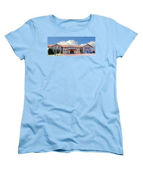 Santa Fe Depot In Amarillo Texas Women's T-Shirt (Standard Cut) by Janette Boyd