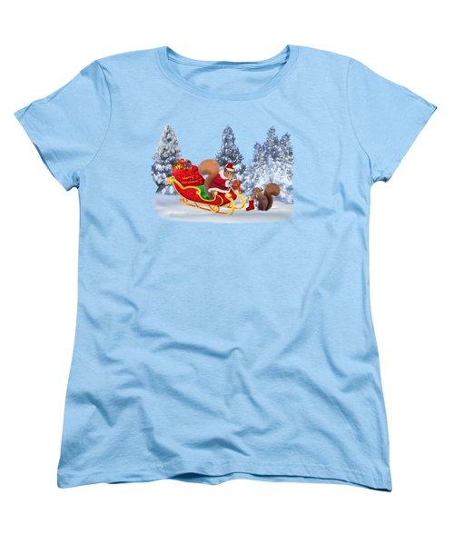 Santa's Little Helper Women's T-Shirt (Standard Cut)
