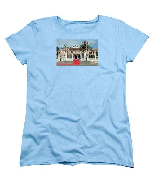 Sao Tome City Hall Women's T-Shirt (Standard Cut) by John Potts