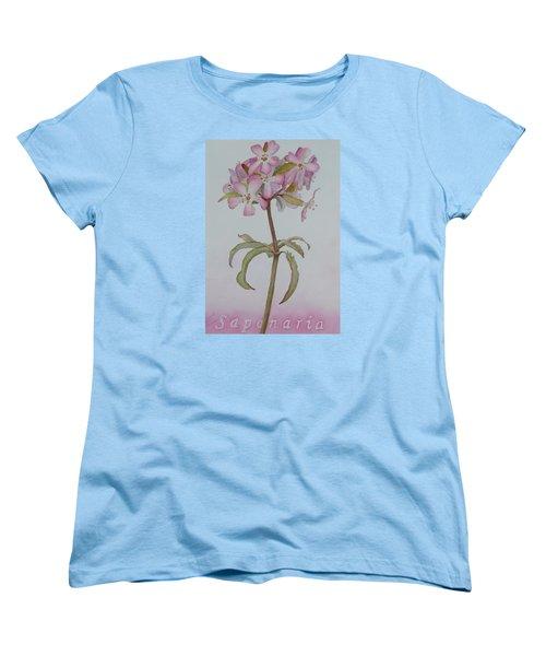 Saponaria Women's T-Shirt (Standard Cut) by Ruth Kamenev