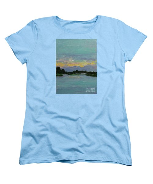 Savannah Sunrise Women's T-Shirt (Standard Cut) by Gail Kent