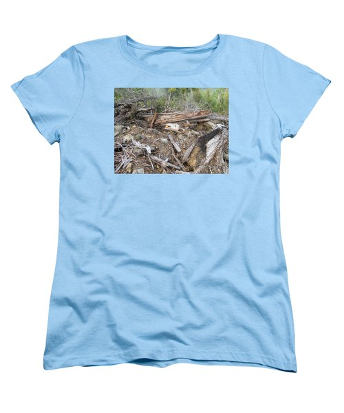 Women's T-Shirt (Standard Cut) featuring the photograph Save The Last Bite For Me by Marie Neder