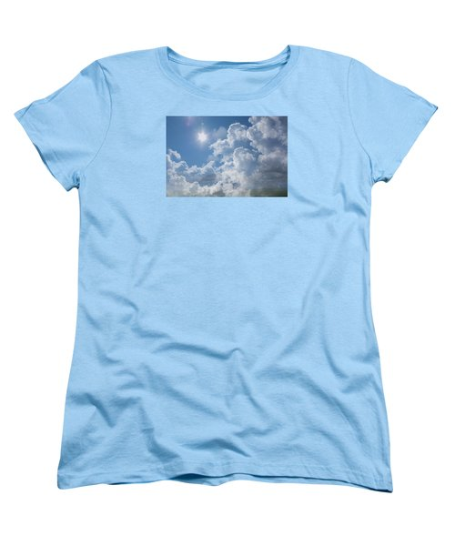 Sayers Homestead In The Clouds Women's T-Shirt (Standard Cut) by Ellery Russell