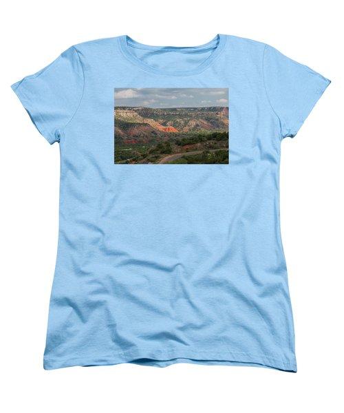 Scenic View Of Palo Duro Canyons Women's T-Shirt (Standard Cut)
