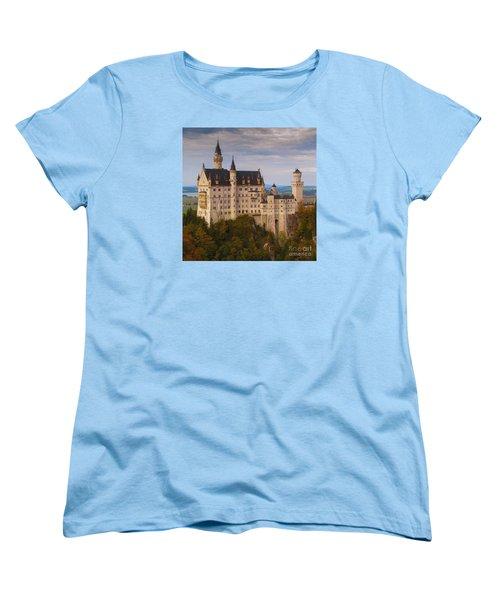 Women's T-Shirt (Standard Cut) featuring the photograph Schloss Neuschwanstein by Franziskus Pfleghart