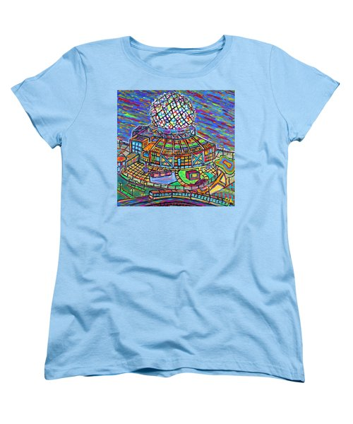 Science World, Vancouver, Alive In Color Women's T-Shirt (Standard Cut) by Jeremy Aiyadurai
