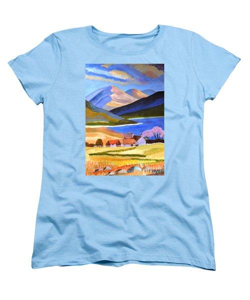 Scottish Highlands 2 Women's T-Shirt (Standard Cut) by Magdalena Frohnsdorff