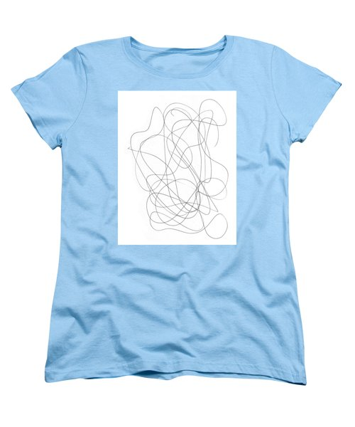 Scribble For Grin And Bear It Women's T-Shirt (Standard Cut) by Ismael Cavazos