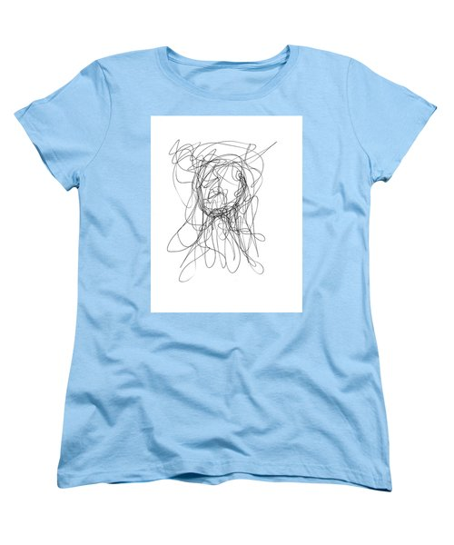Scribble For Gusts, Dust, The Sun... Women's T-Shirt (Standard Cut) by Ismael Cavazos