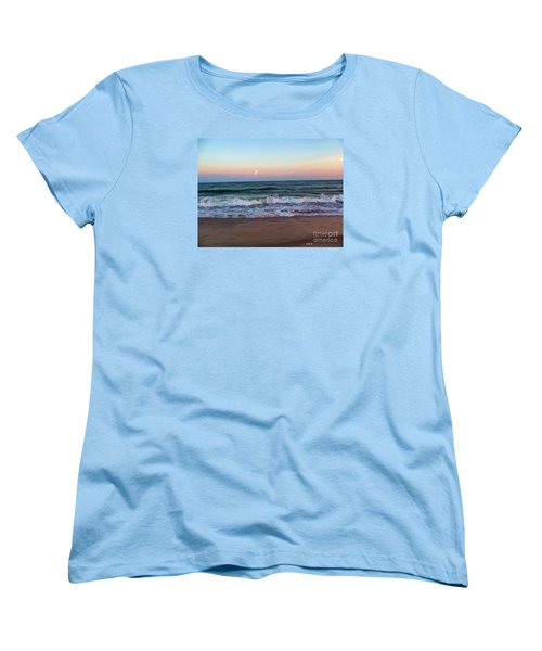 Women's T-Shirt (Standard Cut) featuring the photograph Sea And Sky by Roberta Byram