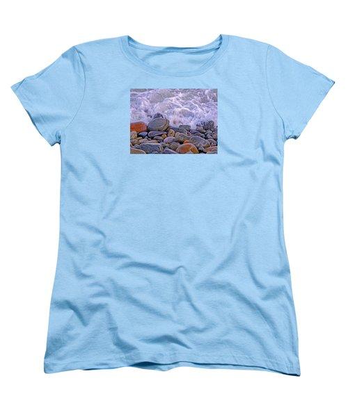 Sea Covers All  Women's T-Shirt (Standard Cut) by Lynda Lehmann