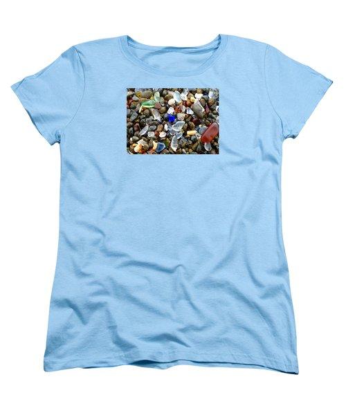 Sea Glass Beauty Women's T-Shirt (Standard Cut) by Amelia Racca