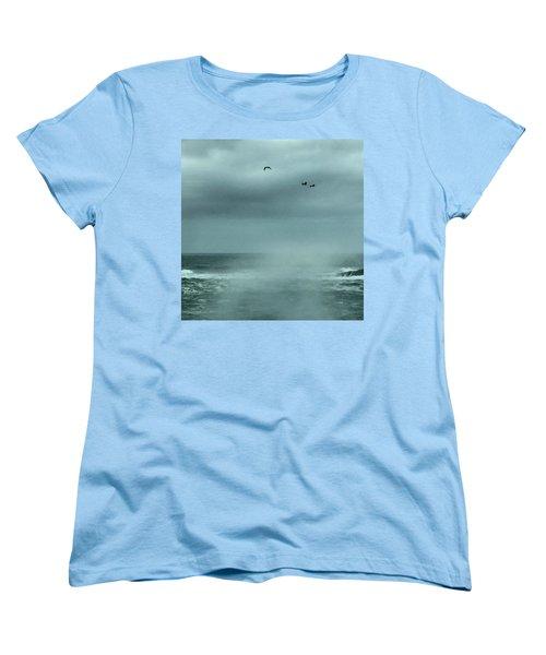 Sea Spray Women's T-Shirt (Standard Cut) by Christine Lathrop