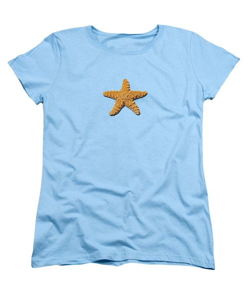 Sea Star Orange .png Women's T-Shirt (Standard Cut) by Al Powell Photography USA