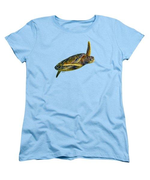 Sea Turtle 2 Women's T-Shirt (Standard Cut)
