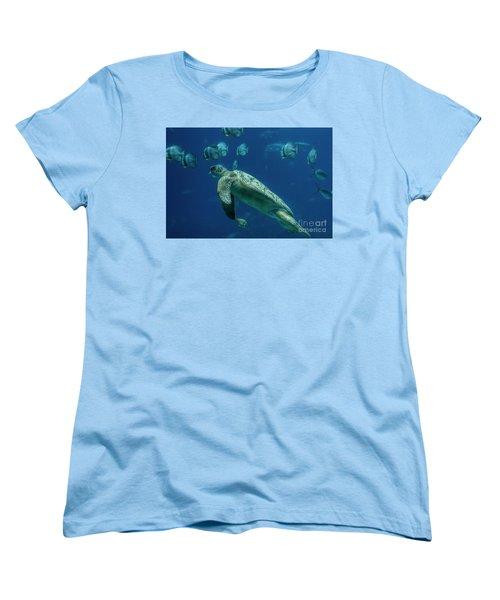 Sea Turtle Women's T-Shirt (Standard Cut)