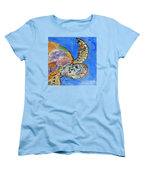 Sea Turtle Women's T-Shirt (Standard Cut)