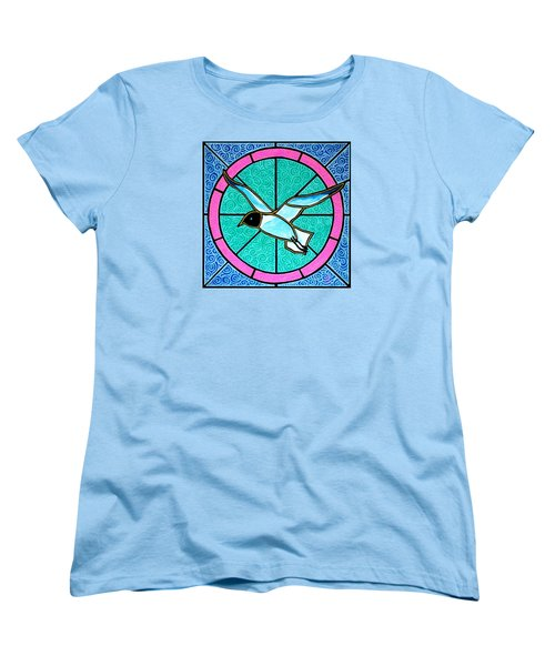 Seagull 4 Women's T-Shirt (Standard Cut) by Jim Harris