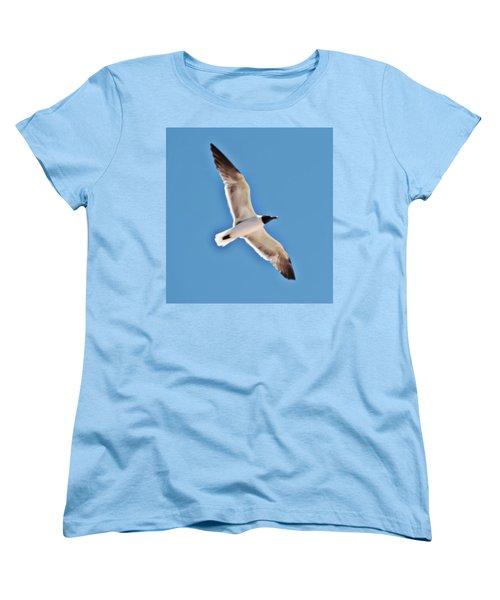 Seagull In Flight Women's T-Shirt (Standard Cut)