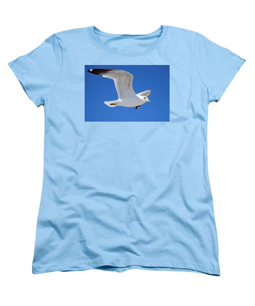 Seagull Women's T-Shirt (Standard Cut) by Ludwig Keck