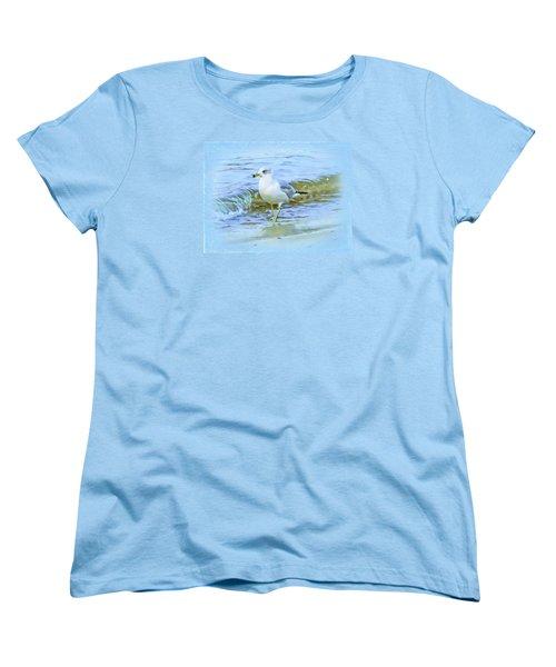 Seagull Women's T-Shirt (Standard Cut) by Nina Bradica