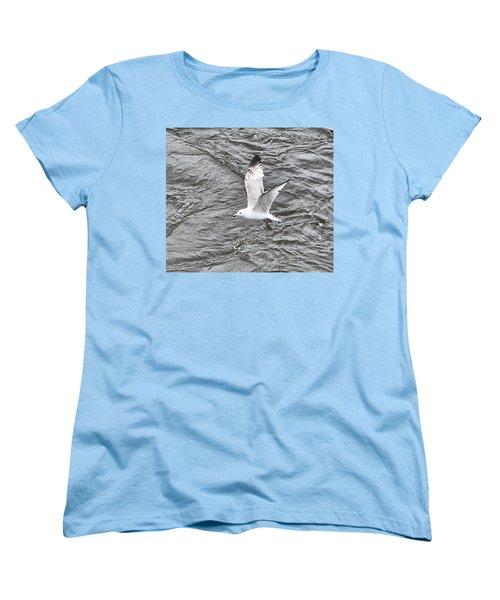 Seagull Sea Women's T-Shirt (Standard Cut) by Yury Bashkin