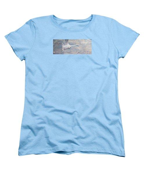 Seagull Women's T-Shirt (Standard Cut) by Vali Irina Ciobanu