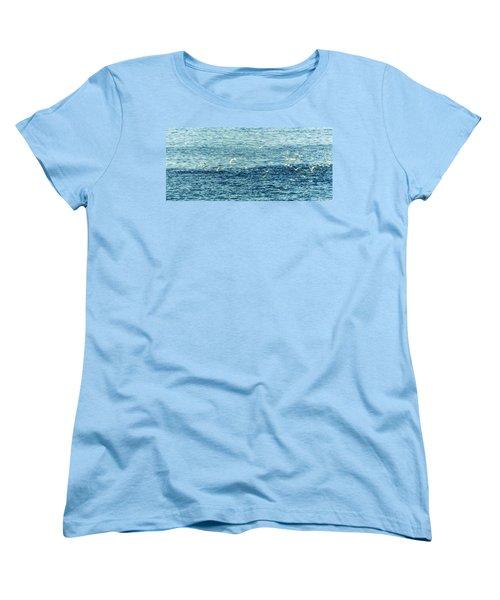 Seagulls Women's T-Shirt (Standard Cut) by Patrick Kain