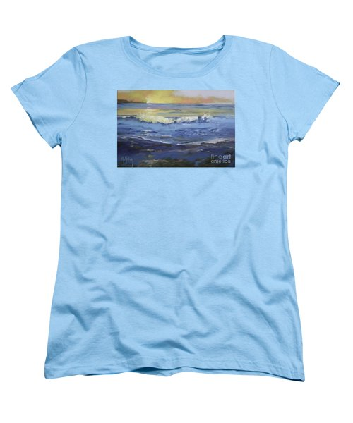 Seaside Women's T-Shirt (Standard Cut) by Mary Hubley