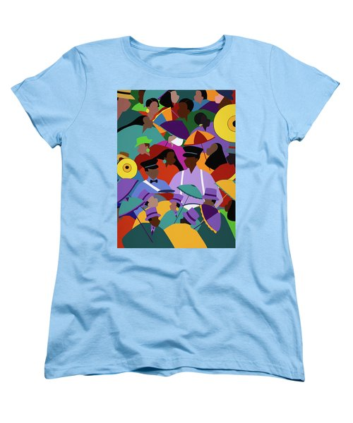 Second Line New Orleans Women's T-Shirt (Standard Fit)
