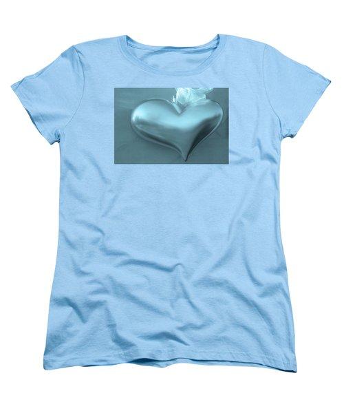 Women's T-Shirt (Standard Cut) featuring the photograph Secret Heart by Juergen Weiss