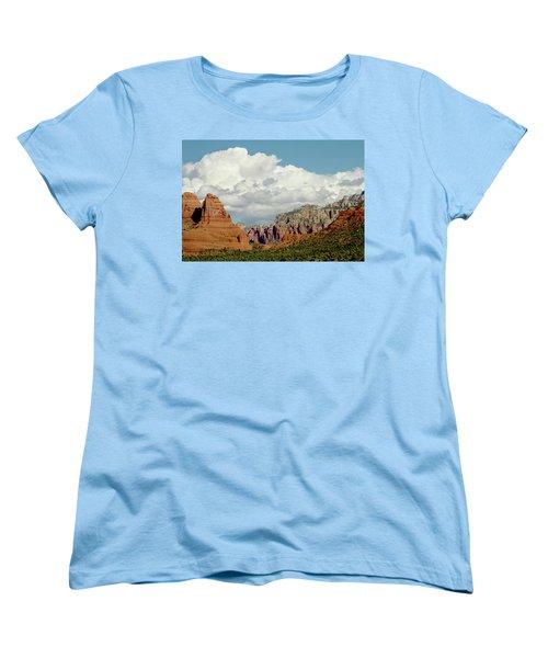 Women's T-Shirt (Standard Cut) featuring the photograph Sedona Arizona by Bill Gallagher
