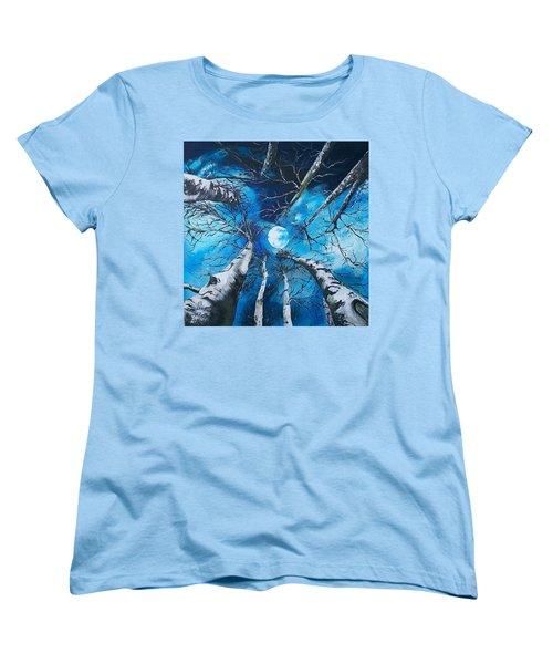 Selenophilia Women's T-Shirt (Standard Cut) by Sharon Duguay