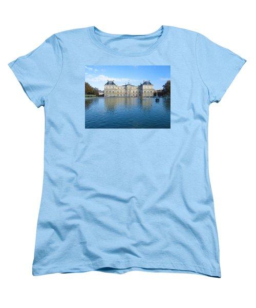 Women's T-Shirt (Standard Cut) featuring the photograph Senat From Jardin Du Luxembourg by Christopher Kirby