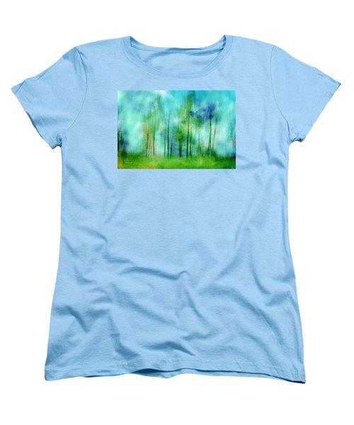 Sense Of Summer Women's T-Shirt (Standard Cut) by Randi Grace Nilsberg