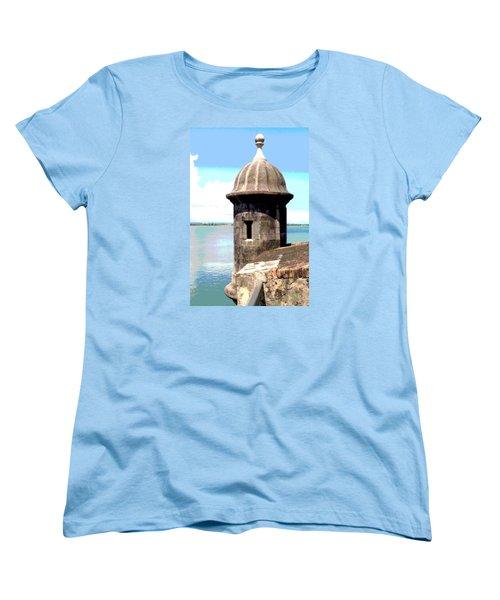Sentry Box In El Morro Women's T-Shirt (Standard Cut)