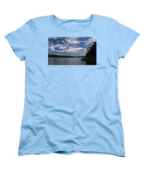 Serene Skies Women's T-Shirt (Standard Cut) by Gary Kaylor