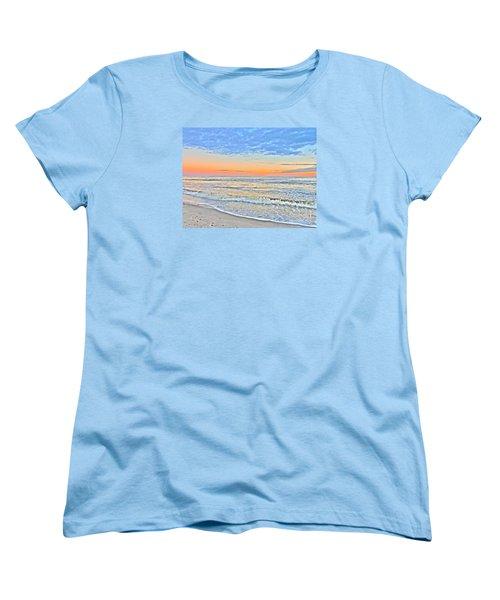 Women's T-Shirt (Standard Cut) featuring the photograph Serene Sunset by Shelia Kempf