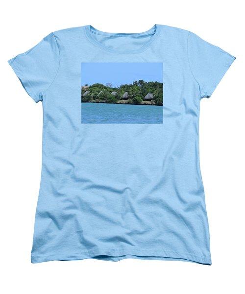 Serenity - Chale Island Kenya Africa Women's T-Shirt (Standard Fit)