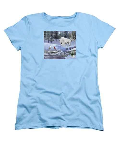 Serenity Women's T-Shirt (Standard Cut) by Glenn Holbrook