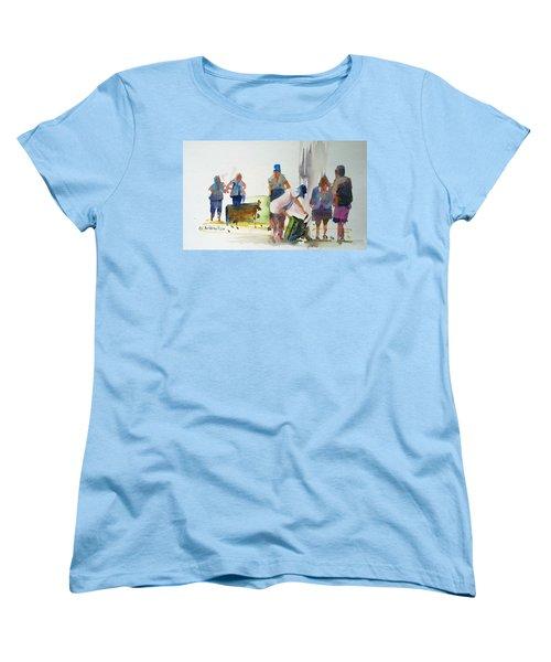Setting Up Women's T-Shirt (Standard Cut) by P Anthony Visco