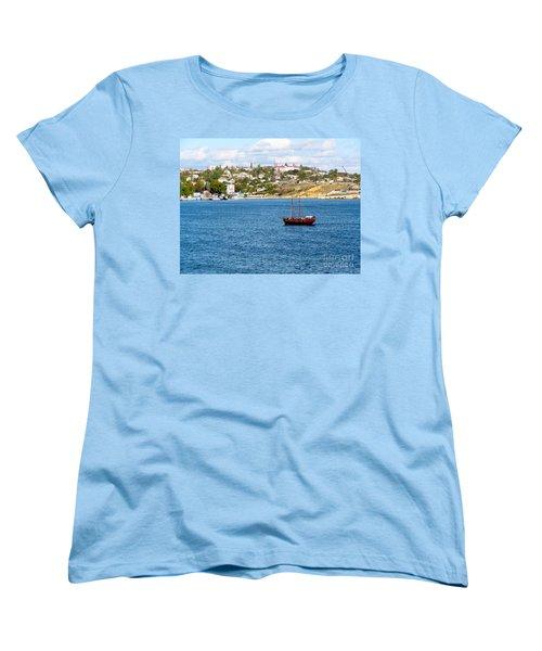 Sevastapol. Ukraine Women's T-Shirt (Standard Cut) by Phyllis Kaltenbach