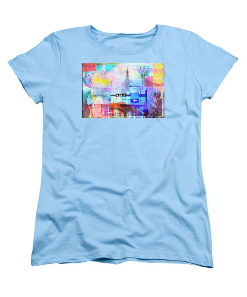 Women's T-Shirt (Standard Cut) featuring the photograph Seventh Street by Susan Stone