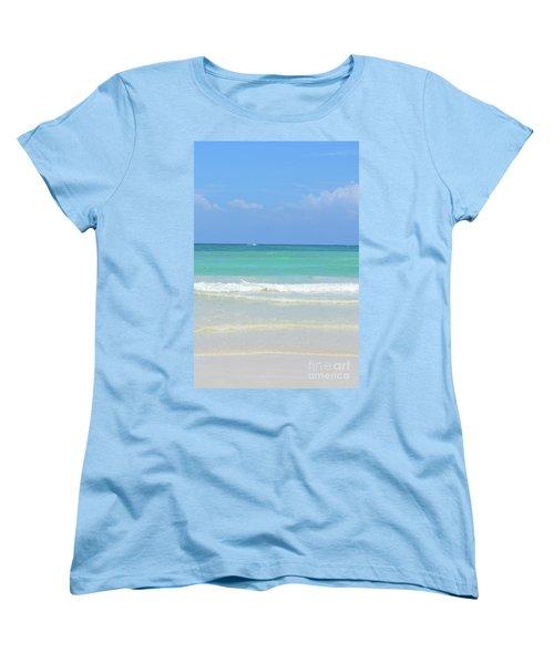 Seychelles Islands 3 Women's T-Shirt (Standard Cut) by Eva Kaufman