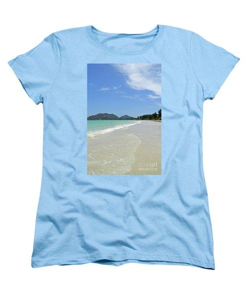 Seychelles Islands 6 Women's T-Shirt (Standard Cut) by Eva Kaufman