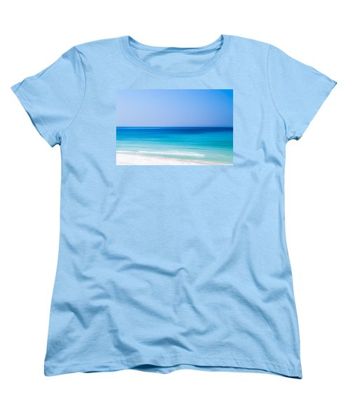 Shades Of Blue Women's T-Shirt (Standard Cut) by Shelby  Young
